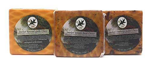 - Smoked, Gourmet Cheeses, 6 Oz Squares (3, Assorted Packs)