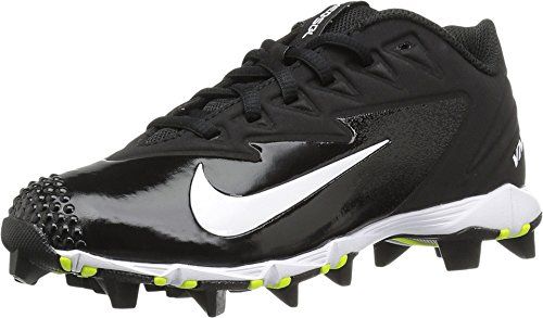 Nike Boy's Vapor Ultrafly Keystone (GS) Baseball Cleat Black/White/Anthracite Size 10 Kids US