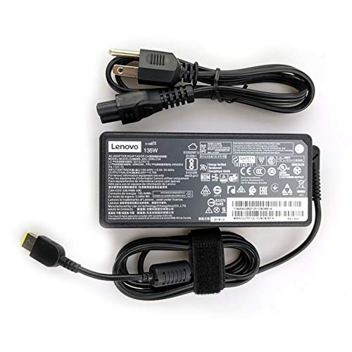 (Lenovo Laptop Charger 135W watt AC Power Adapter for Lenovo ThinkPad Legion Yoga ideaPad,ADL135NLC3A ADL135NDC3A ADL135NCC3A)