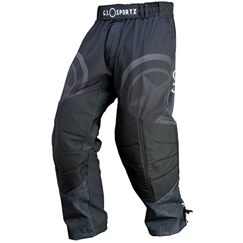 (G.I. Sportz Glide Paintball Pants - Black - Medium)