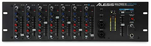 Alesis Multimix 10 Wireless | 10-Channel Mixer with Integrated Bluetooth Wireless Capability ()