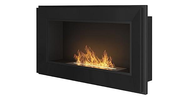 Biochimenea, chimenea, chimenea de bioetanol rame90 900 mm x 490 mm), color negro: Amazon.es: Bricolaje y herramientas