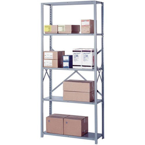 Lyon DD8005SM 8000 Series Open Shelving Starter with 5 Medium Duty Shelves, 36