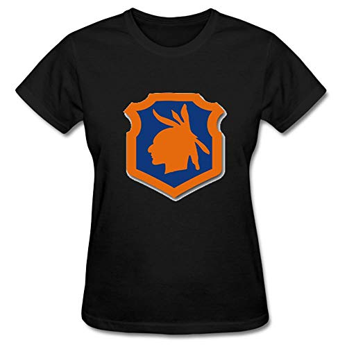 Army 98th Training Division Patch Vinyl Transfer Decal Womens Back Tops Tee Shirts Short Sleeve Outdoor Sport T-Shirt Blouses