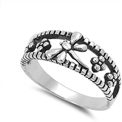 Dragonfly of Eva Ring Sterling Silver 925