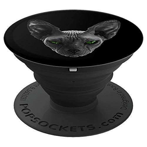 Scare Sphynx cat Funny Halloween PopSockets Grip and Stand for Phones and Tablets]()