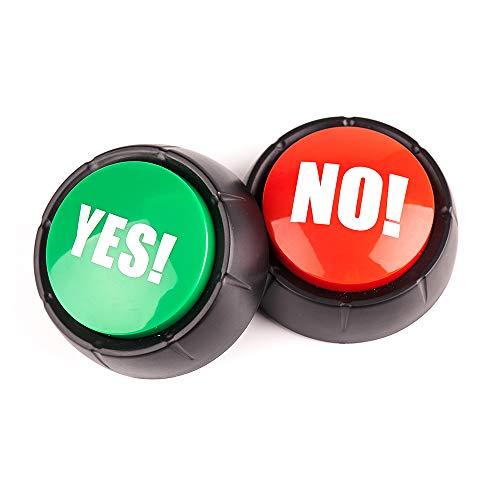 NO Sound Button ,Yes Sound Button ,Set of 2