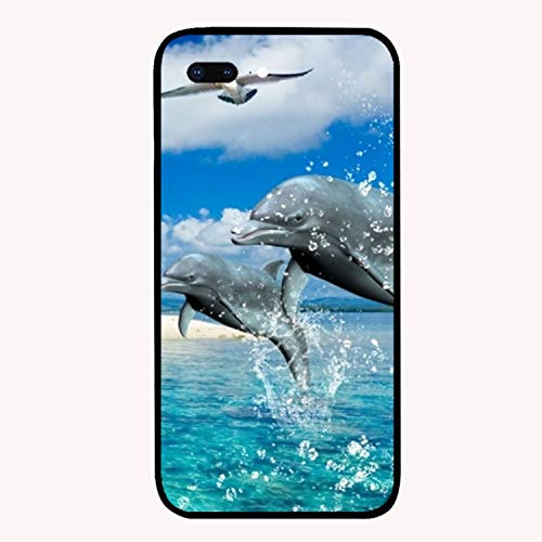 Dolphin Custom iPhone 7/8 Plus Cover Ultra Thin Hard PC Compatible for iPhone 7/8 Plus Case 5.5