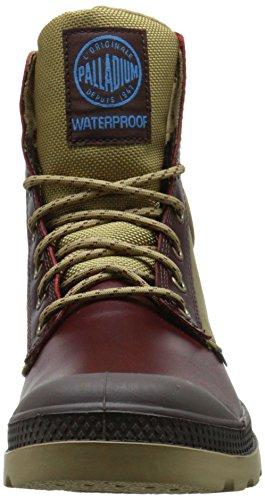 Marron Mahogany Pampa Dark Cuff Mixte Boots Sport Palladium Wpn Adulte Khaki Rangers A48xZx