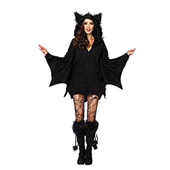 Meijunter Bat Wing Jumpsuit Halloween Cosplay Costume for Kids Girls Women L