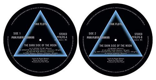Pink Floyd 'Dark Side Of The Moon 'de Turntable slipmat