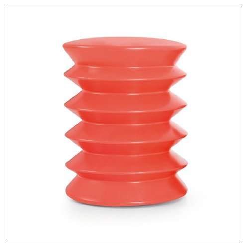 ErgoErgo Ergonomic Stool by Ergo Ergo, color = Orange