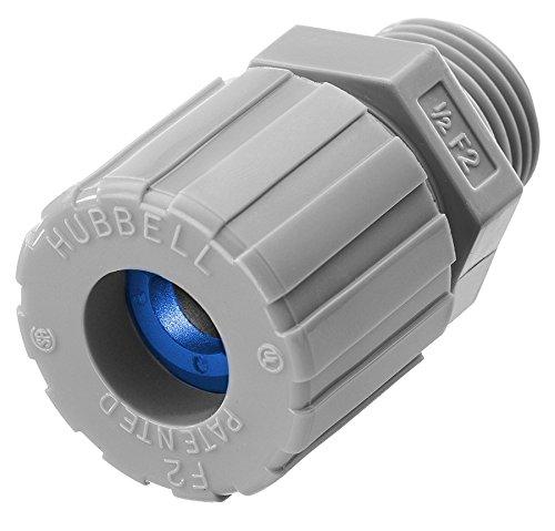 Straight Male Aluminum 0.38-0.50 Diameter 3//4 Hub Hubbell SHC1035CR Kellems Wire Management Cord Connectors
