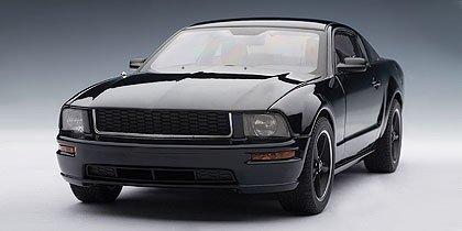 - AUTOart 2008 Ford Mustang GT Bullitt Black 1:18 Diecast
