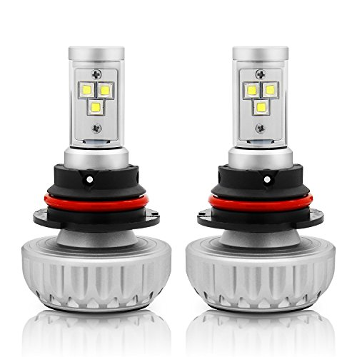 9007 led headlight bulb 8000k - 7