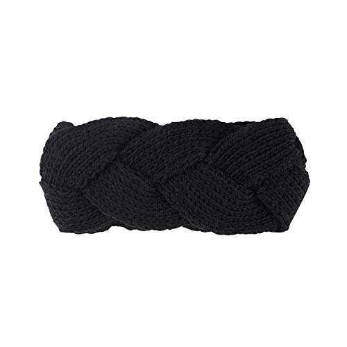 Winter Warmer Ear Knitted Headband Turban Lady Women Crochet Wide Stretch Hairband Headwrap16