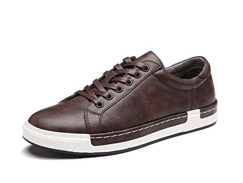 di 44 dimensioni grandi Sneakers Grigio Lace Dimensione Marrone Men Driving for moda ZHRUI up Casual Shoes EU traspirante Colore wq7TvT