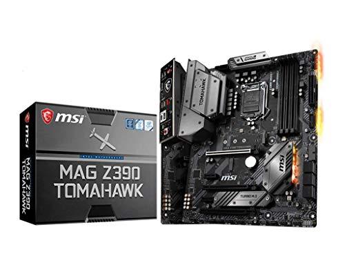 MSI MAG Z390 TOMAHAWK Motherboard ATX, LGA1151, DDR4, Dual LAN, USB 3.1 Gen2, Type-C, M.2, RGB Mystic Light, HDMI, Display Port, Intel 8th and 9th Gen
