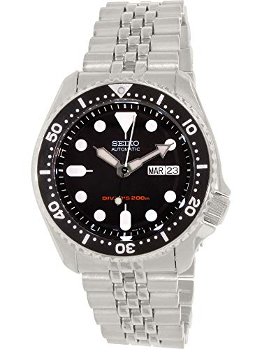 Stainless Men Steel Ring Omega - Seiko Men's SKX007K2 Diver's Automatic Watch