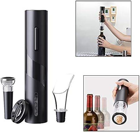 Fenteer Abridor automático de Botellas de Vino, abridor eléctrico de Botellas de sacacorchos para Herramienta de Bar en casa - Estilo 2