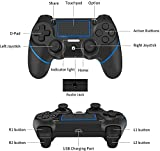 Controller for PStation 4,Y Team Wireless PS4