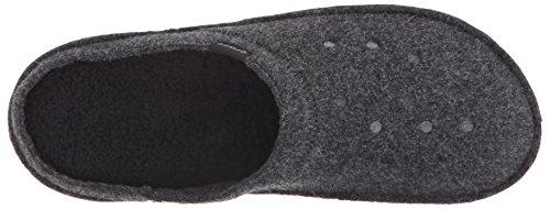 Crocs Unisex Classico Pantofola Nero / Nero