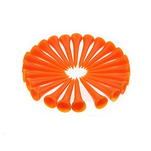 Buy orange golf tees plastic