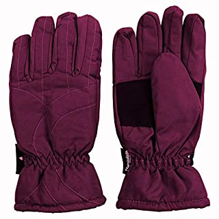 Urban Boundaries Womens/Girls Warm Winter Waterproof Thinsulate Snow Gloves (Maroon, Medium) (B01BLVB514) | Amazon price tracker / tracking, Amazon price history charts, Amazon price watches, Amazon price drop alerts