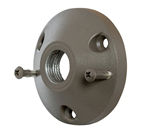 Westgate Lighting LED Tree Mounting Base-Cast Aluminum Housing Accessory-Bronze Powder Coat Finish Landscape Light Accessory- 1/2