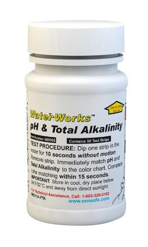 Industrial Test Systems 480005 WaterWorks pH/Total Alkalinity Test