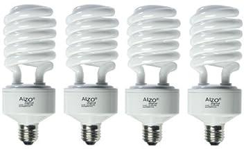ALZO 45W Joyous Light Full Spectrum CFL Light Bulb 5500K, 2800 ...