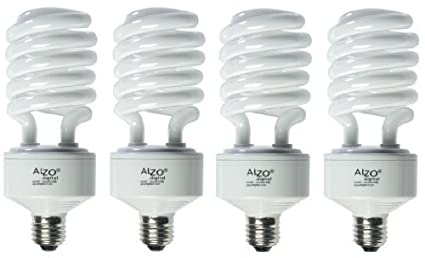 ALZO 45W Joyous Light Full Spectrum CFL Light Bulb 5500K 2800