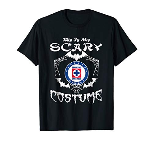 Scary Cruz Halloween Costume Funny Azul Fan T-Shirt
