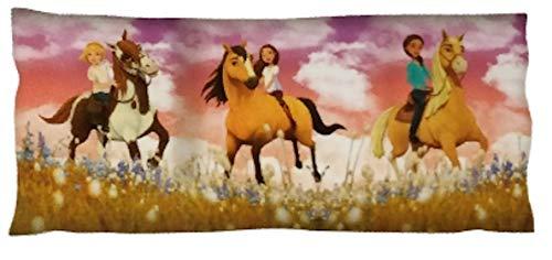 Licensed DreamWorks Spirit Riding Free Horses Body Pillow Cover (Pillow Pet Horse)