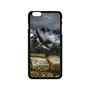 Fly To My World Eagle Hight Quality Plastic Case for Iphone 6