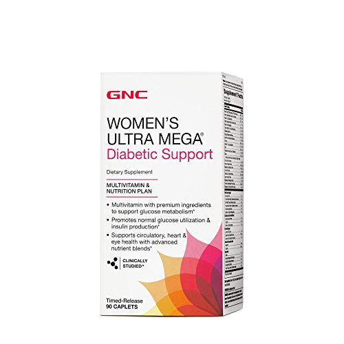 GNC Womens Ultra Mega Diabetic Support -
