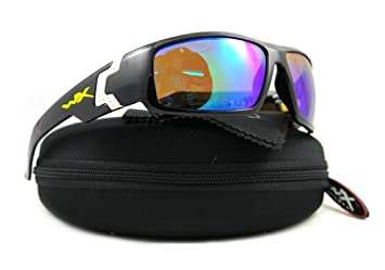 38d85a43f22 Image Unavailable. Image not available for. Colour  WILEY X SUNGLASSES  POLARIZED WX SSXCE04 BLACK XCESS