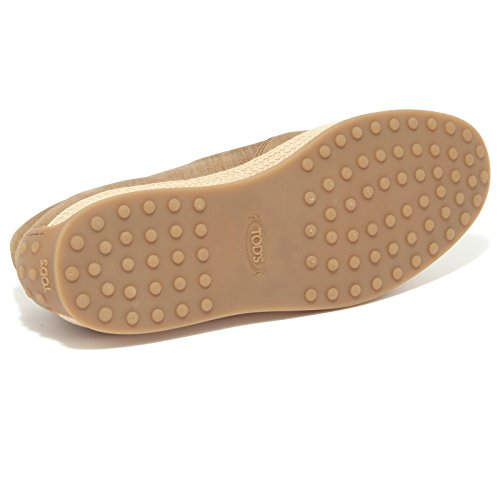 4391Q sneaker uomo TODS pantofola rafia shoes men Beige