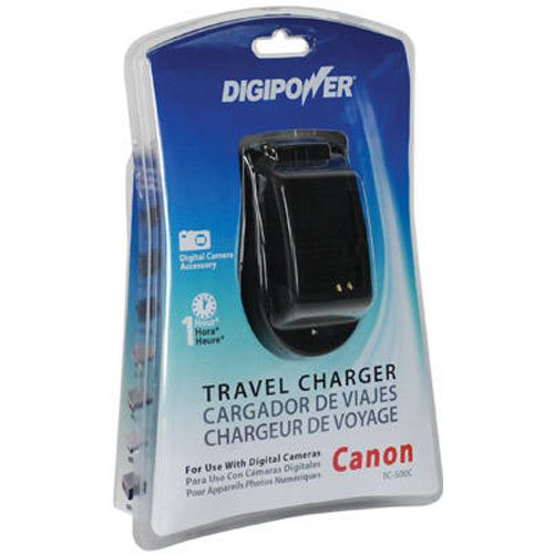 (DigiPower TC-500C Travel Charger for Canon NB Series Batteries)