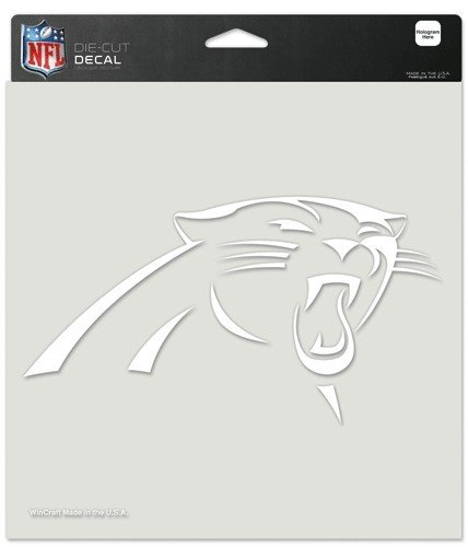 NFL Carolina Panthers Die-Cut Decal, 8