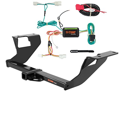 CURT Class 1 Trailer Hitch Bundle with Wiring for 2015 Subaru WRX - 11408 & 56259 - Subaru Wrx Trailer Hitch