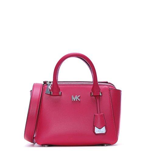 Michael Michael Kors Nolita Mini Leather Satchel - Ultra Pink