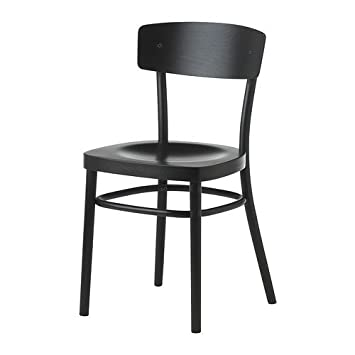 Brilliant Ikea Idolf Chair Black Amazon Co Uk Kitchen Home Alphanode Cool Chair Designs And Ideas Alphanodeonline