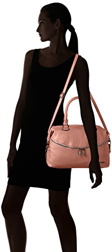 Boscha Zip Bag - cartera Mujer Rosa (Rose)