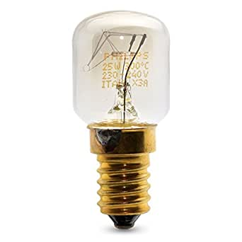 Juego de 3 bombillas Philips pequeñas de 25 W SES con rosca E14 ...