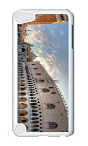 Ipod 5 Case,MOKSHOP Cute piazza san marco venice Hard Case Protective Shell Cell Phone Cover For Ipod 5 - PC White by lolosakes by lolosakes