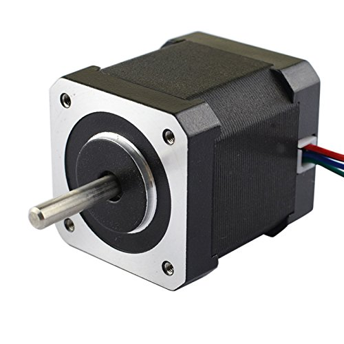 Price comparison product image 3D Printer Nema 17 Stepper Motor 1.7A 64oz.in 4 Wire 1m Wire W/ Molex Connector