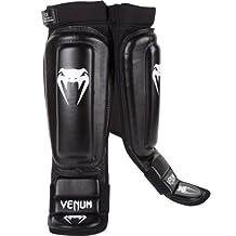Venum 0169-L 360 MMA Shinguards, Black
