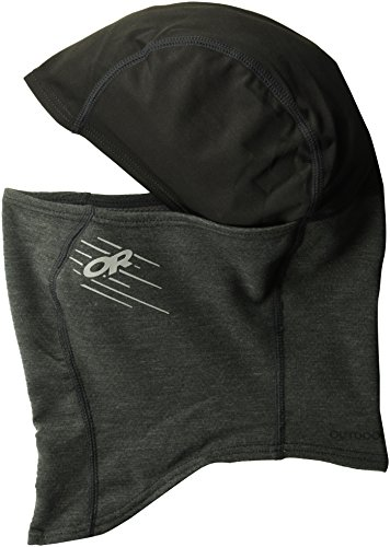 Outdoor Research Shiftup Balaclava, Black/Charcoal, Large/X-Large