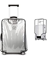 PVC Luggage Protector Cover Clear Suitcase Cover Protector Fit Most 20'' to 30'' Luggage